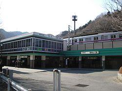 250px-Keio-TakaosanguchiSTATION